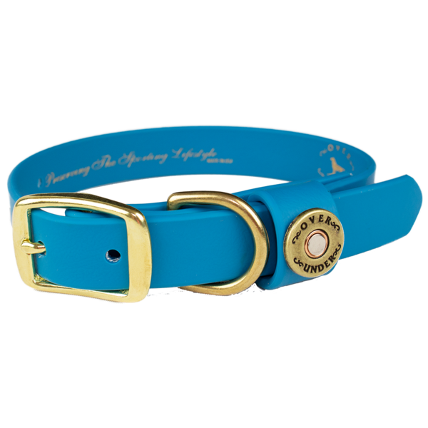 Water Dog Collar - Aqua Blue