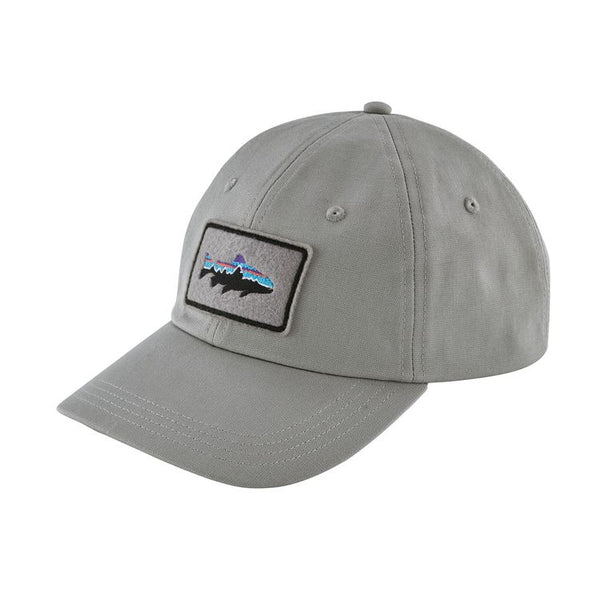 Fitz Roy Trout Patch Trad Cap Drifter Grey