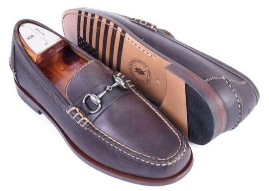 All American Horse Bit Loafer