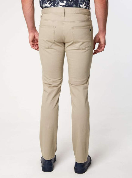 Clifton 5 Pocket Sateen Twill Pant - Tan