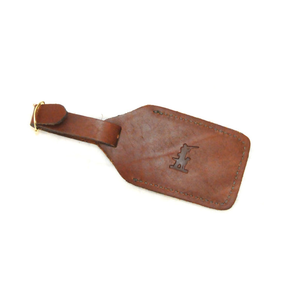 Beau Leather Luggage Tag