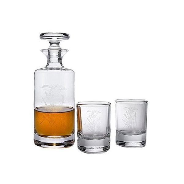 Mini Round Decanter Set