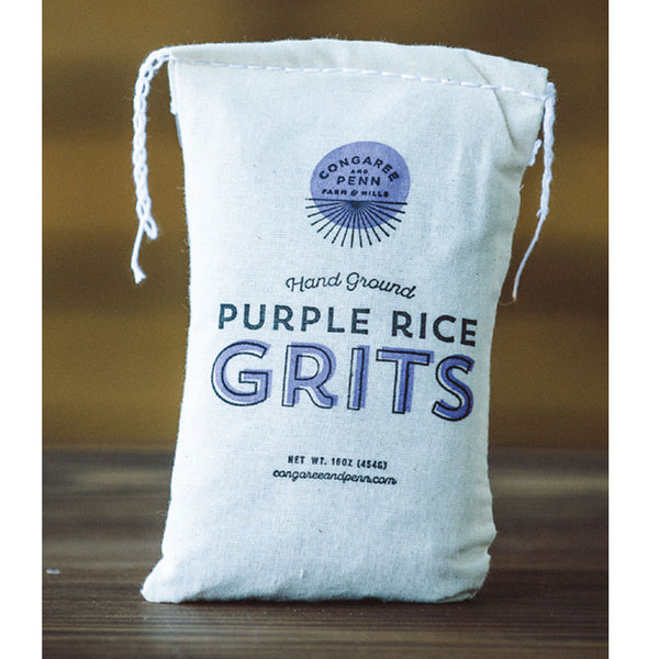 Purple Rice Grits