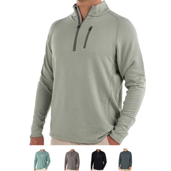 Bamboo Fleece Quarter Zip