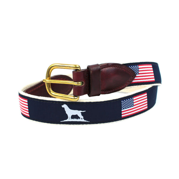 Patriot Ribbon Belt