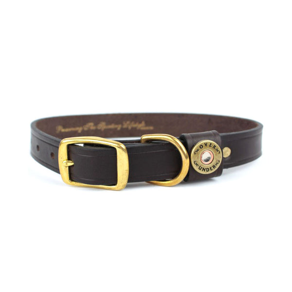 Finest in the Field Dog Collar Brown
