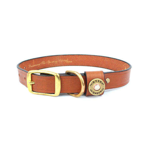 Finest in the Field Dog Collar London Tan