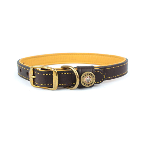 Sunday Driver Deerskin Lined Collar