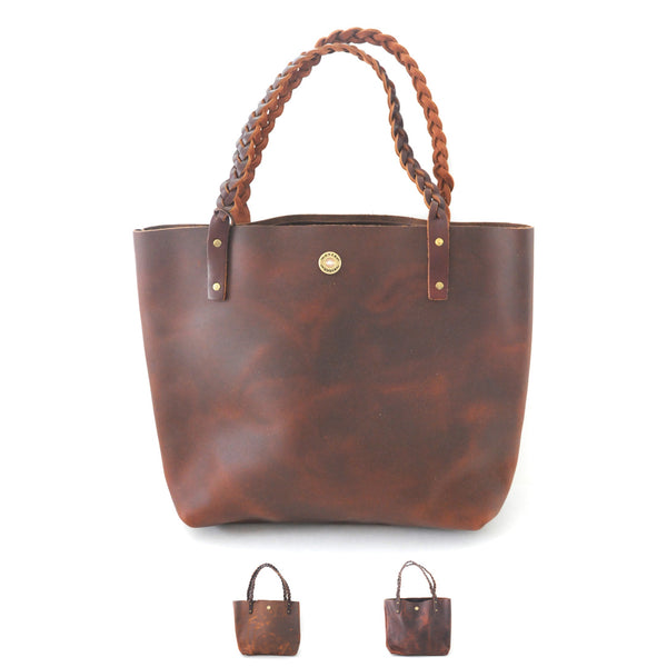 The Saddle Braid Marion Tote