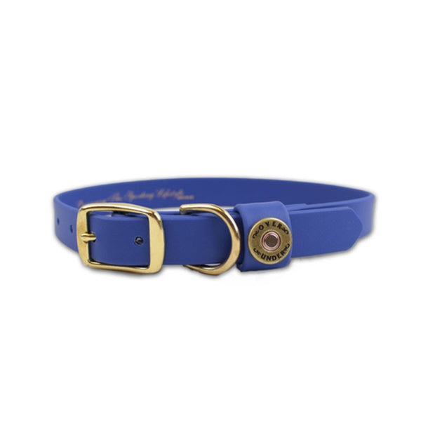 Water Dog Collar - Cobalt Blue