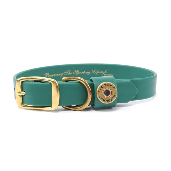 Water Dog Collar - Green