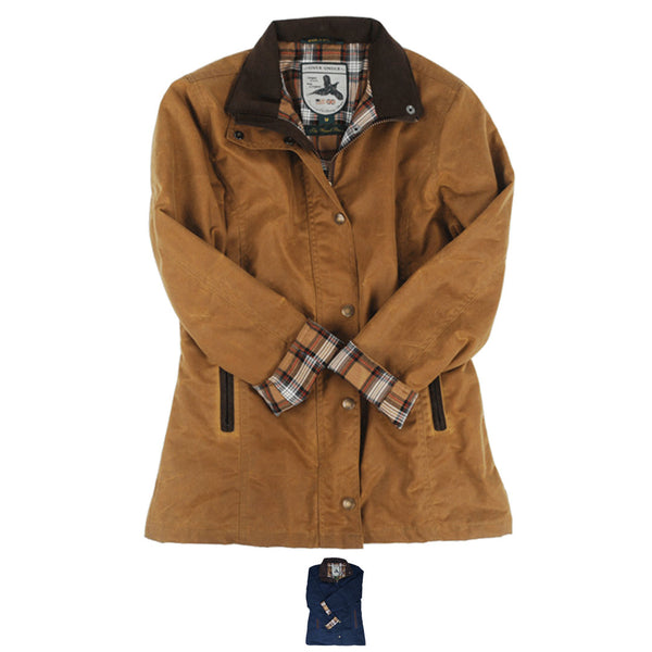 Womens Waxed Briar Jacket