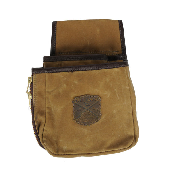 Waxed Canvas Shell Pouch - Large