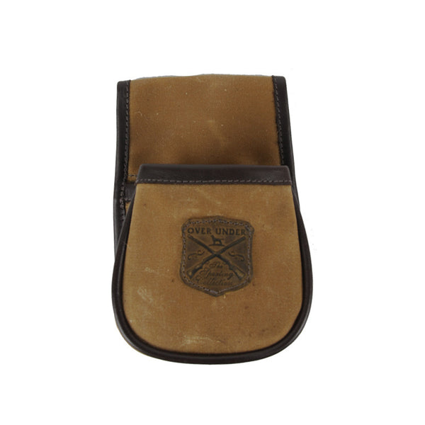 Waxed Canvas Shell Pouch - Small