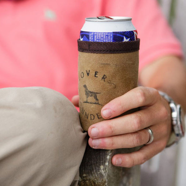 Waxed Canvas Koozie