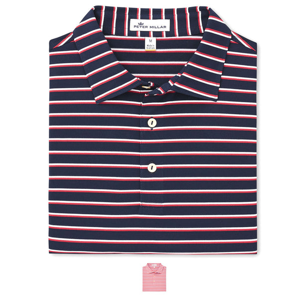 Coley Stripe Polo