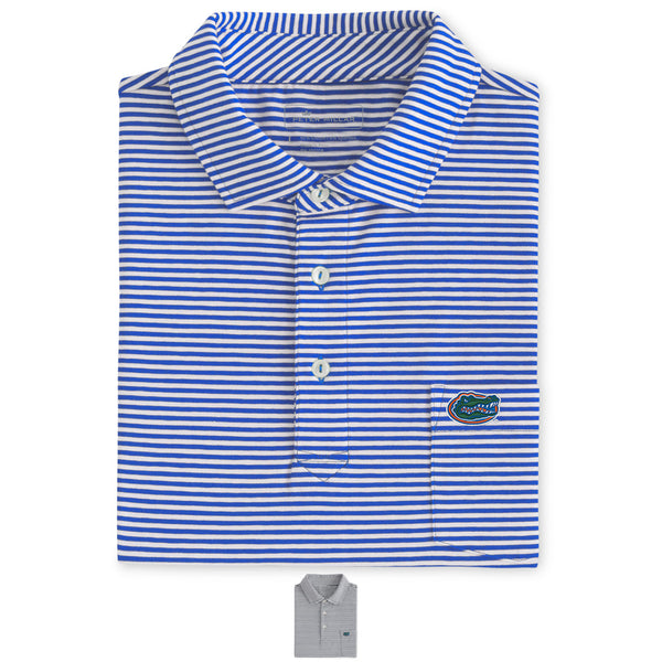 Major Seaside Stripe Pocket Polo UF