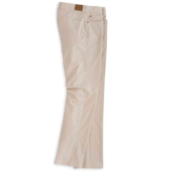 Sateen Stretch Five Pocket Pant