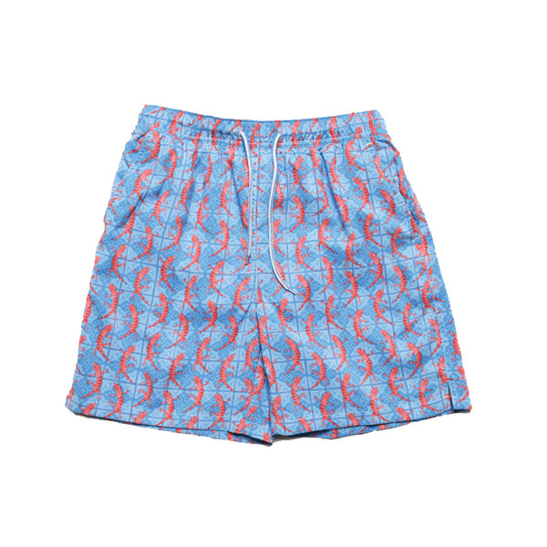 Youth Rep Tile Swim Trunks