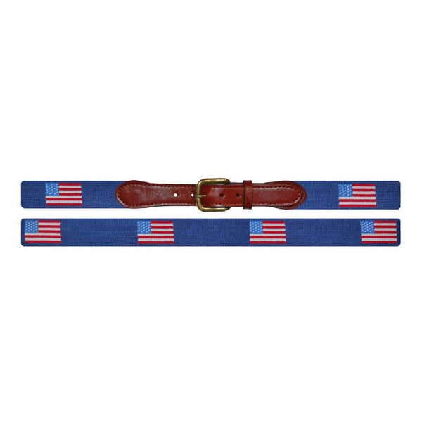 American Flag Traditional Belt