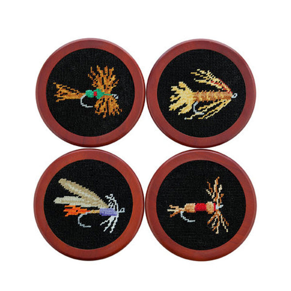 Fishing Flies Coasters