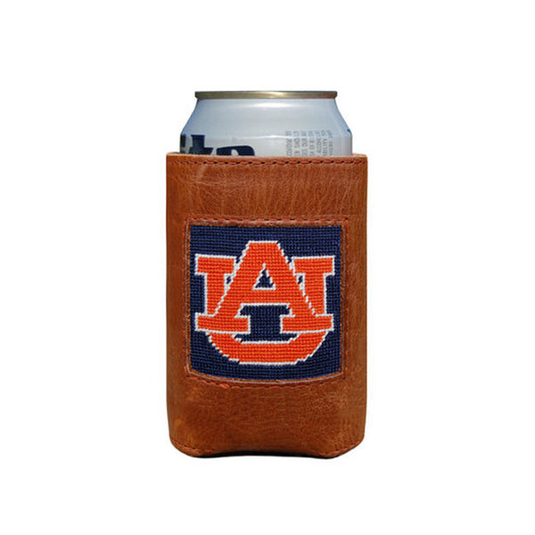 Auburn University Leather Koozie