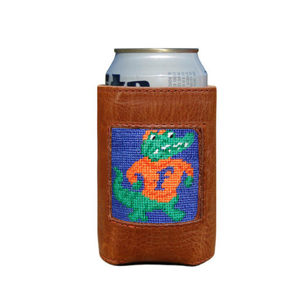 University of Florida Leather Needlepoint Koozie