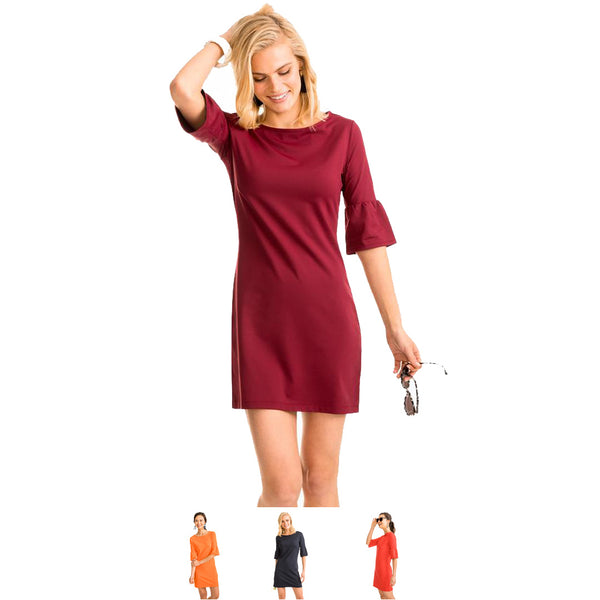 Ws Gameday Micro Stripe Dress