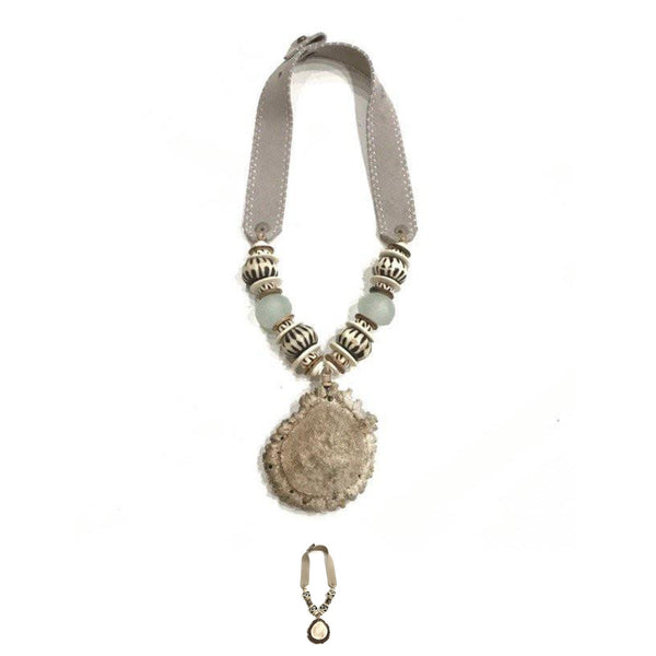Antler Mid Burr Necklace - Signature