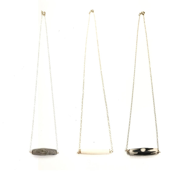 Delicate Bar Necklace