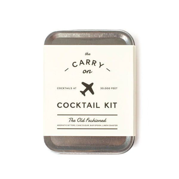 Carry-On Cocktail Kit Old Fashioned