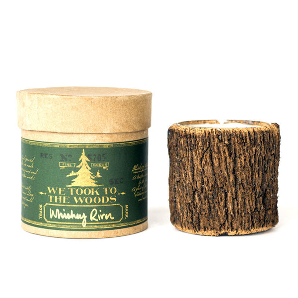 Bark Candles - Whiskey River