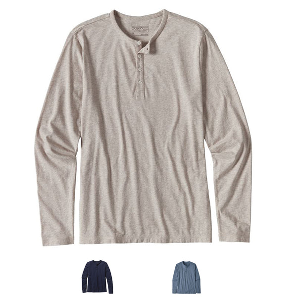 Daily Henley L/S T-Shirt