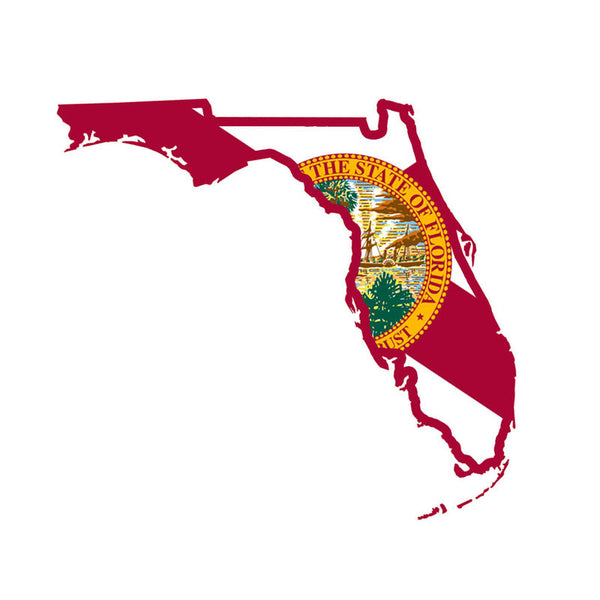 Sunshine State Flag FL Decal