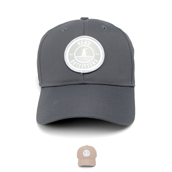 Beau Circle Patch Performance Hat