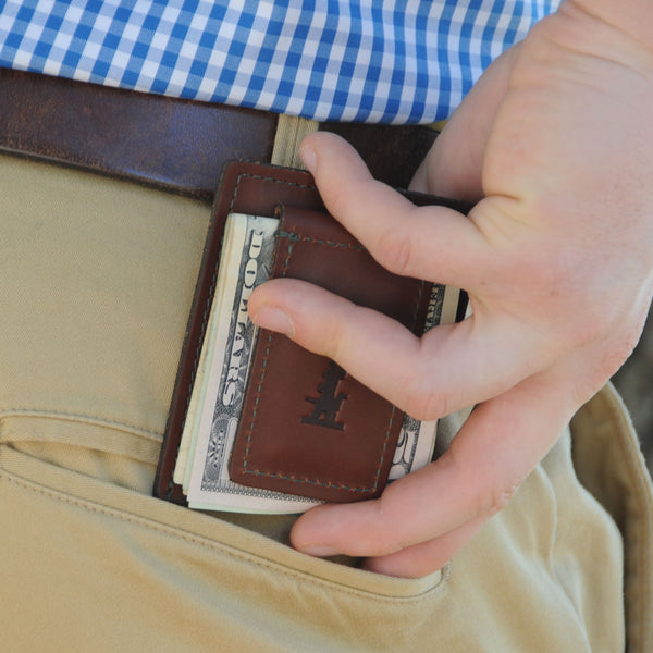 Beau Leather Card Case and Money Clip
