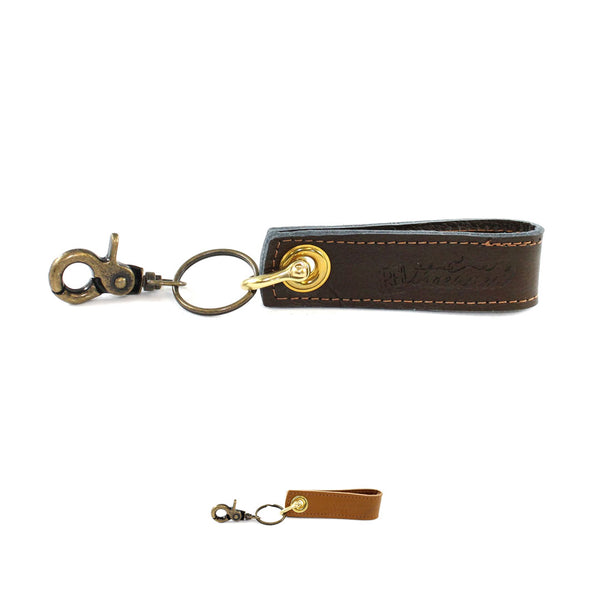 Leather Loop Key Fob