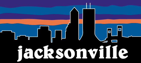 Jacksonville Sunset Decal