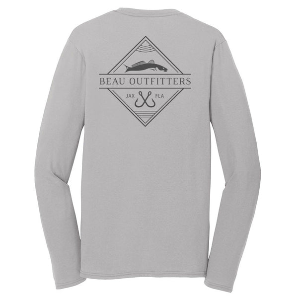 Shallow Cruiser LS Sun Tech Tee
