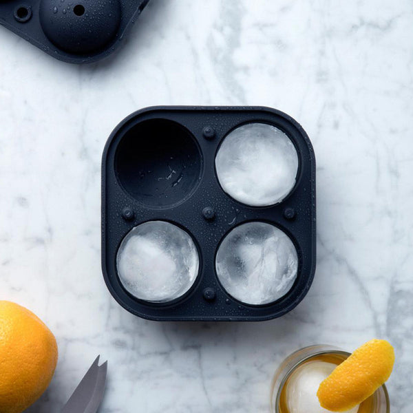 Sphere Ice Tray Black