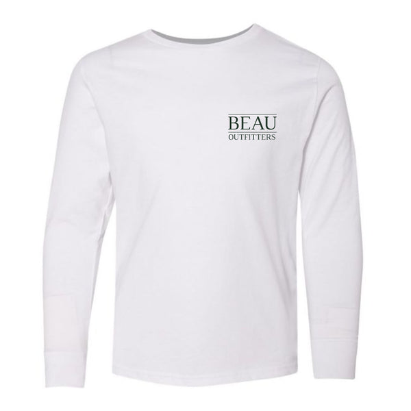 Youth Beau Original Logo LS T-Shirt
