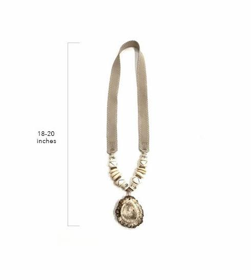 Antler Burr Necklace  - Signature