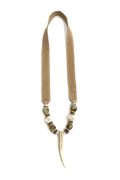 Antler Single Tip Necklace  - Signature