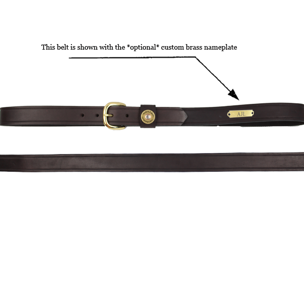 Cannon's Point Leather Multi-Shot Shell Belt