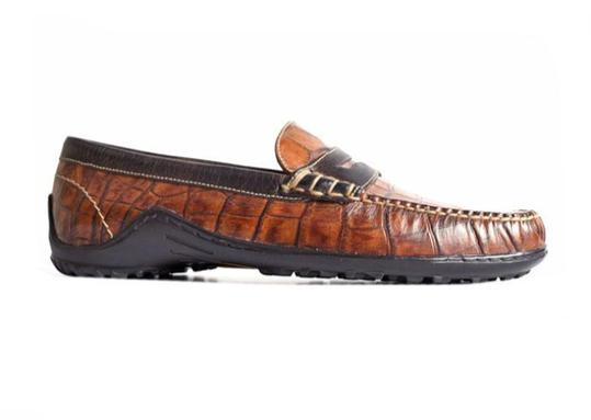 Bill Penny Alligator Grain Loafer