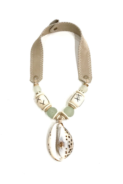 Mid Cowrie Shell Necklace