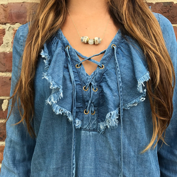 Delicate Intricate Necklace