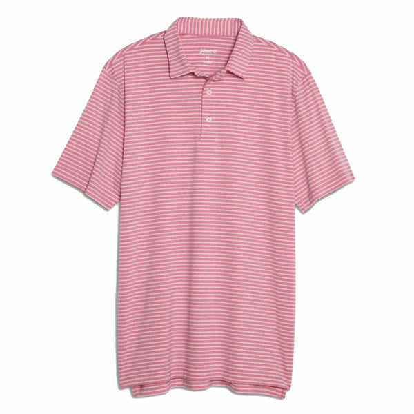 Barrett Stripe Prep-Formance Polo