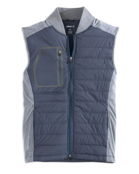 Duffy Quilted Media Vest