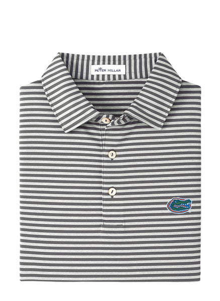Mills Stripe Stretch Polo UF